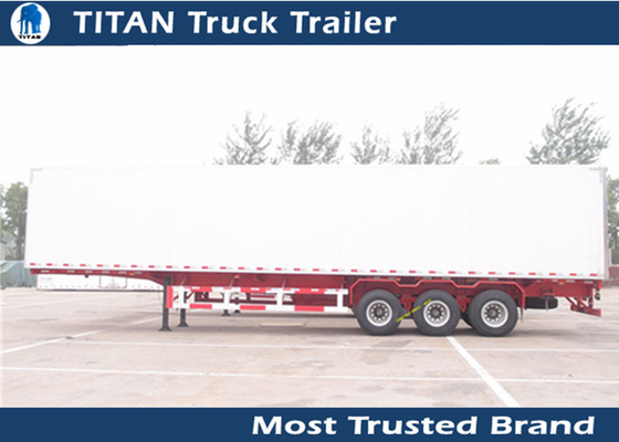 Professional 30 - 100 ton Utility refrigerated trailer vehicle -28 degrees