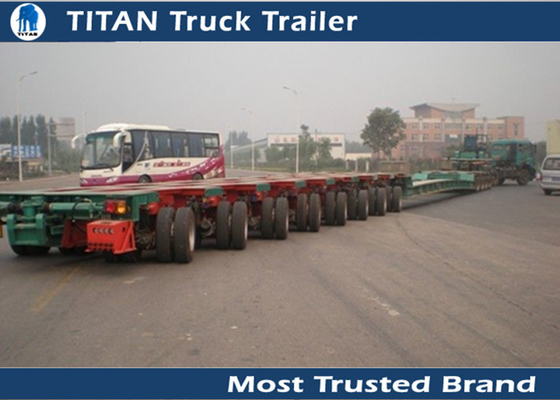 Overload Transportation 150 Ton Semi Trailer Multi dual axle trailers Hydraulic