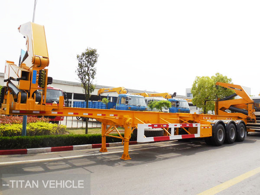 China China Box Loader 40ft Container Sidelifter Side Loader Trailer factory