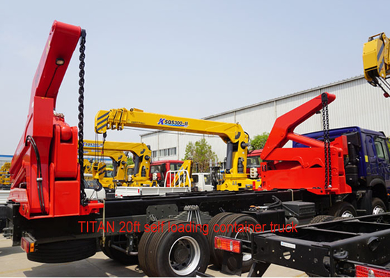 China 20Ft Container Handling And Transporting Sidelifter Side Loader Truck factory