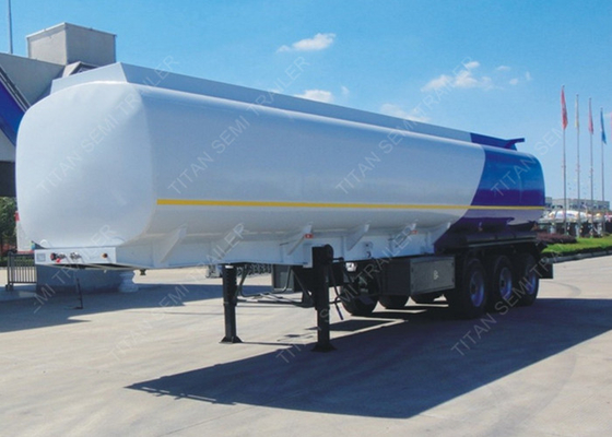 Cusomized semi trailer tanker with 43000 liters loading capacity