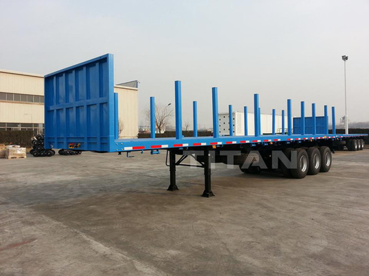 Container Handling log carrier Trailers