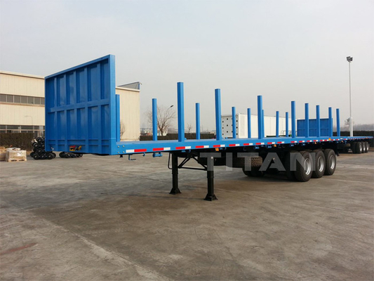 Container Handling Trailers for log and timber transport  | TITAN