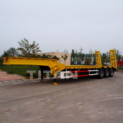 Heavy hauler 3 axles 60 tons low bed semi trailer