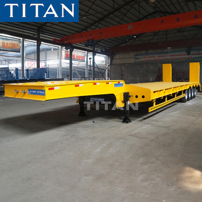 China Commercial Low Bed Trailer factory