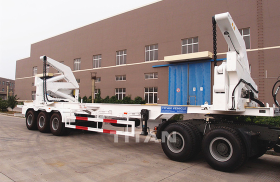 TITAN container side Loading Sidelifter semi trailer 37 ton capacity