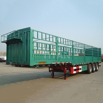 TITAN 3 axles fence cargo sideboards side wall trailers for sale