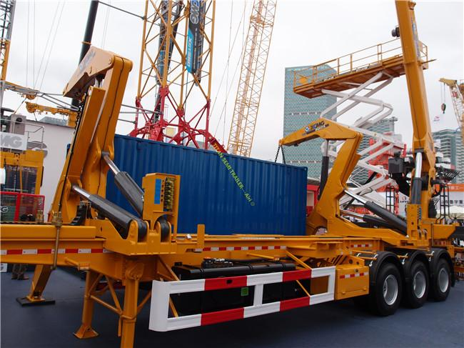CIMC box loader trailer for 20ft 40ft container handling and transport