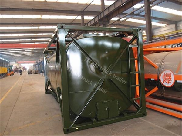 Customized oil tank trailer 4mm 5mm 6mm tank thickness , semi truck trailer