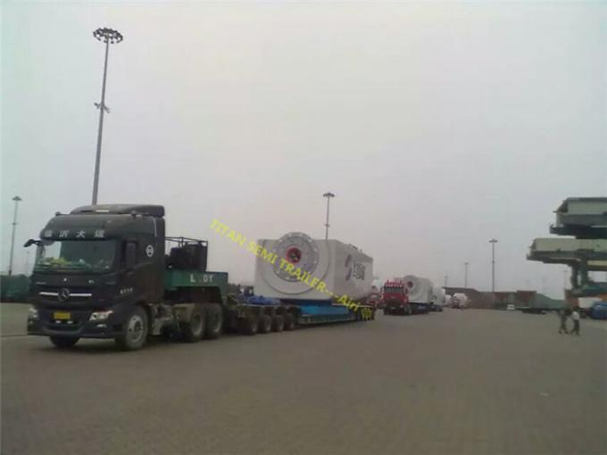 Factory Equipment Transportation hydraulic modular trailer with Multi Axle