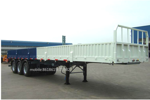 With Drop Axle Semi : Multi axles horizontal mm side wall ft drop