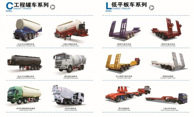 100 Tons Multi Axle Trailer / hydraulic platform trailer for Carry container , hoses