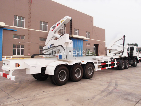 TITAN 37 ton 20ft Sidelifter Container Side Loader Trailer for UAE