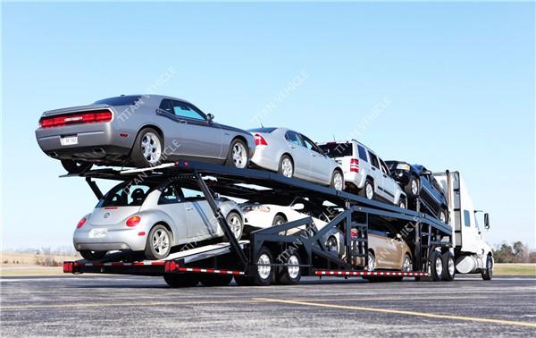 TITAN Car auto hauler Enclosed Vehicle Transport Carrier