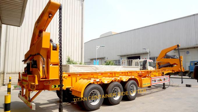 titan container side loader