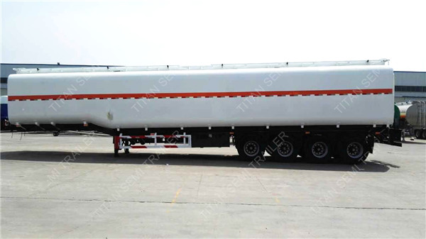 cooking oil tanker trailer