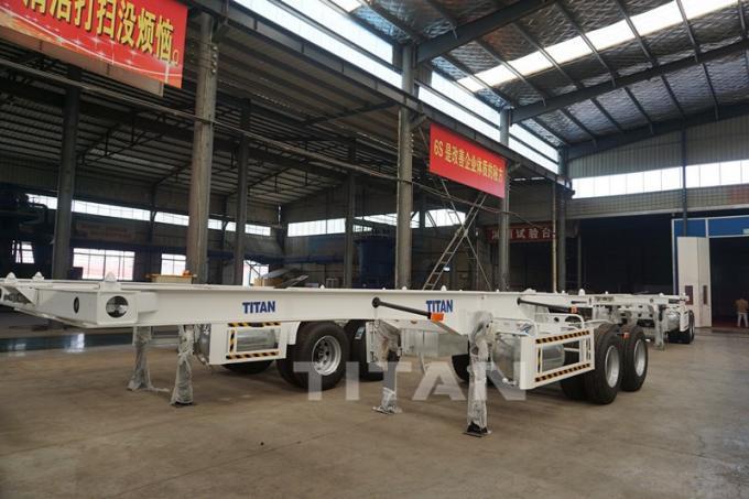 TITAN tandem supelink sketal trailer titan drawbar