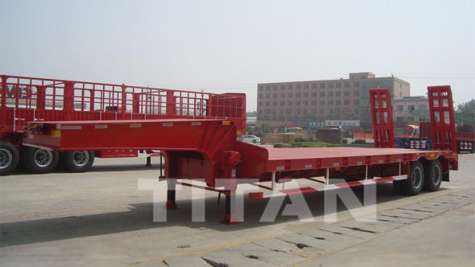 Low Bed Trailer 2 axles 50 tons