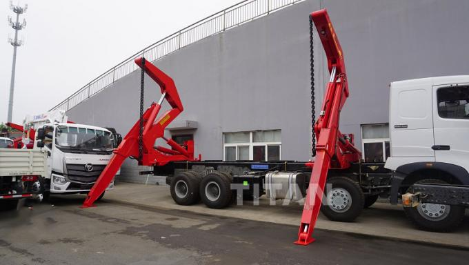 container side loader trailer