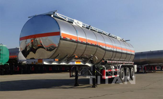 stainless aluminum steel fuel tanks trailer for sale