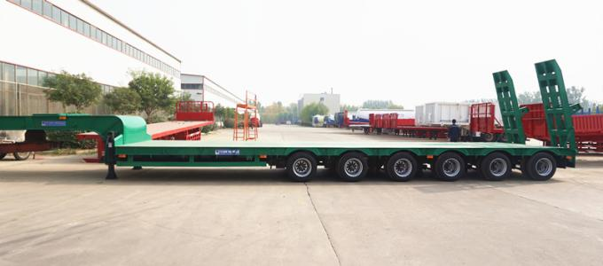 6 axles lowbed trailer