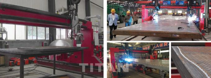Shandong Titan Vehicle Co.,Ltd factory production line 2